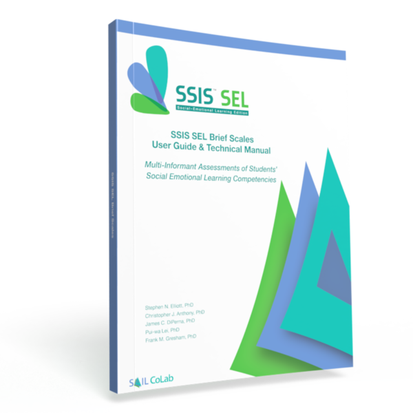 SSIS SEL Brief Scales Manual Cover 2020 Edition